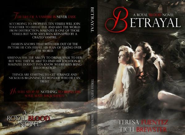 Betrayal cover wrap